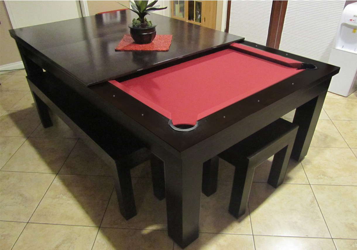 Pool table legs accessories for sale - Creative Convertible Pool Table Madison