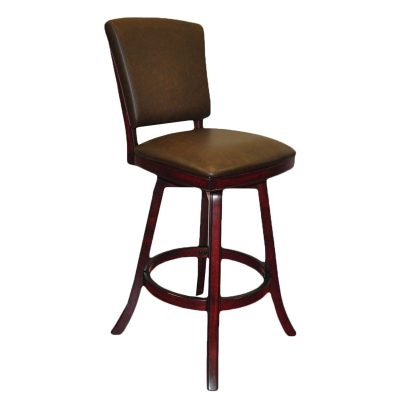 Bar Stool Back Mahogany