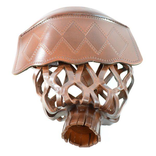 Diamond Billliard Leather Pocket-brown