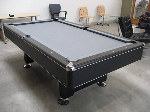 The Eliminator Pool Table Provides A Modern Look To A Classic Game - Eliminator pool table