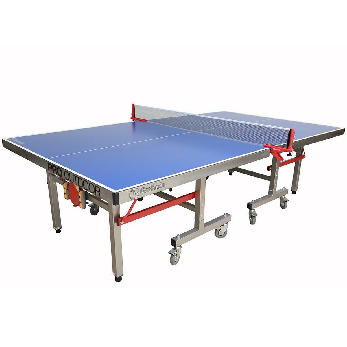 Garlando pro outdoor table hollywood billiards - Weatherproof table tennis table ...