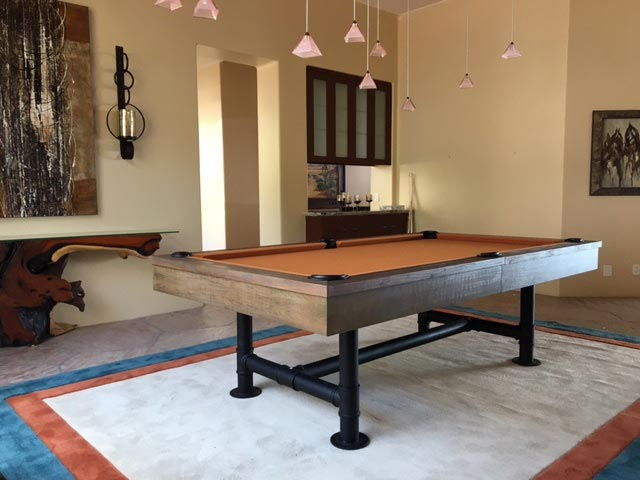 The Bedford Pool Table By Imperial Industrial Design