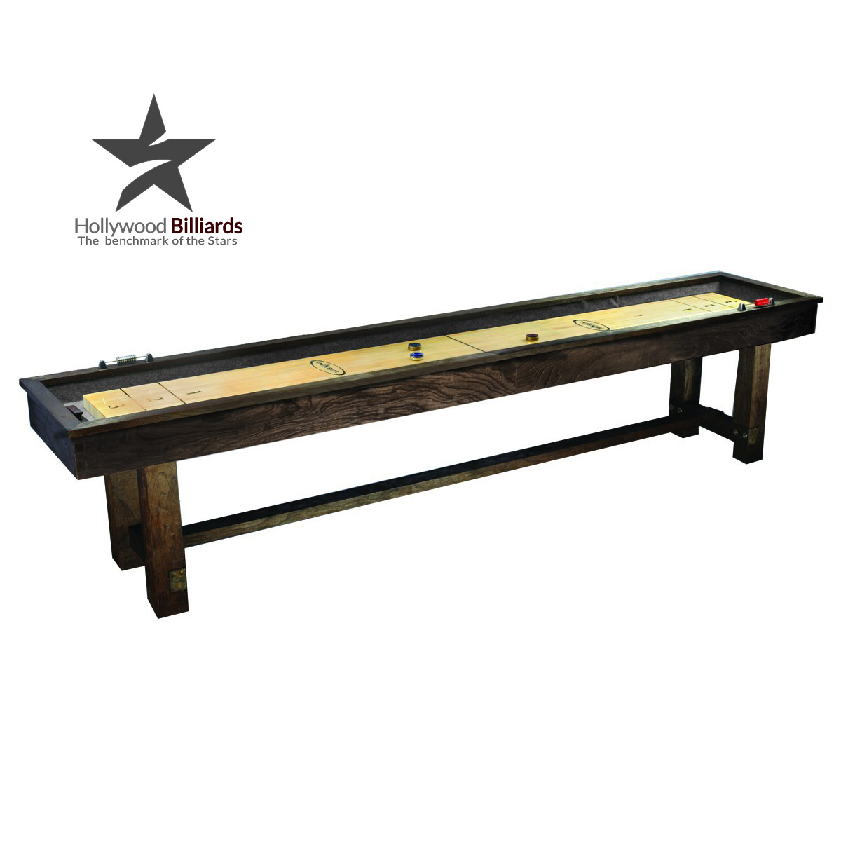 Imperial reno rustic 12 ft hollywood billiards for 12 ft table