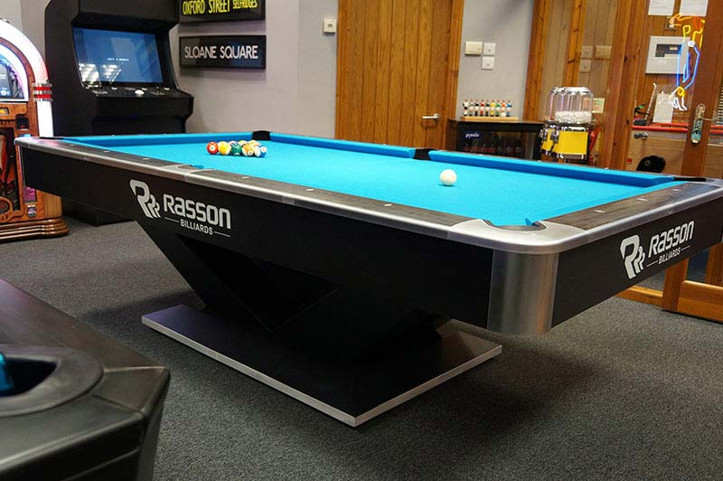 Rasson Pro Victory Pool Table Tournament Commercial