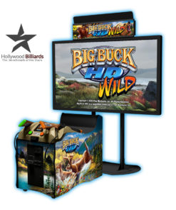 Raw Thrills Big Buck Hd Arcade Game