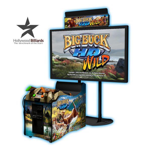 Raw Thrills Big Buck Hd Arcade Game