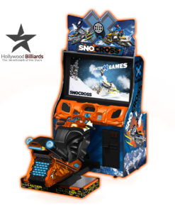 Raw Thrills Snocross Arcade Game