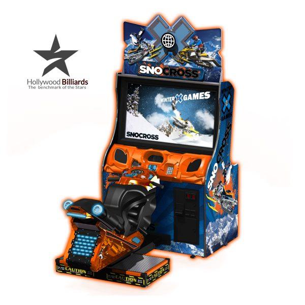 Raw Thrills Snocross Arcade Game