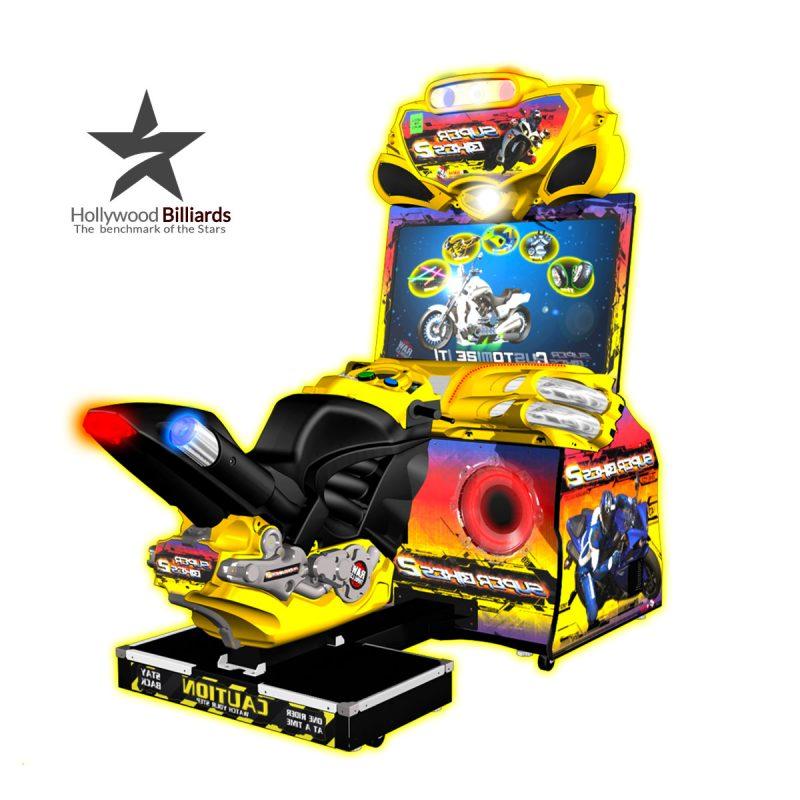 Raw Thrills Super Bikes 2 Arcade Game