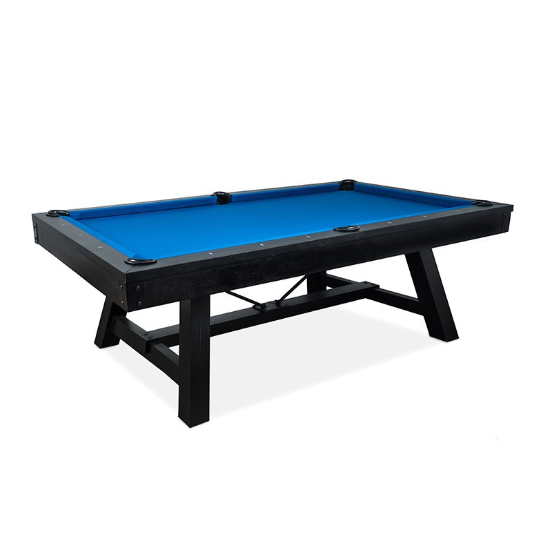 The Madison Pool Table Is A Beautiful Transitional Style