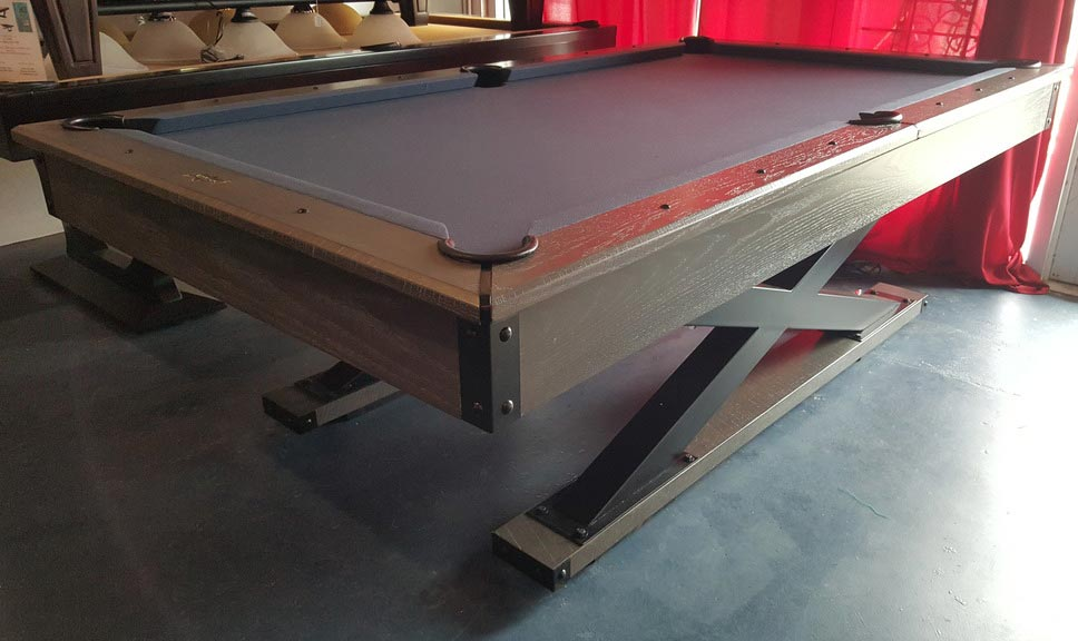 The Quest Foot Pool Table American Oak Which Provides An Urban Feel - Quest pool table