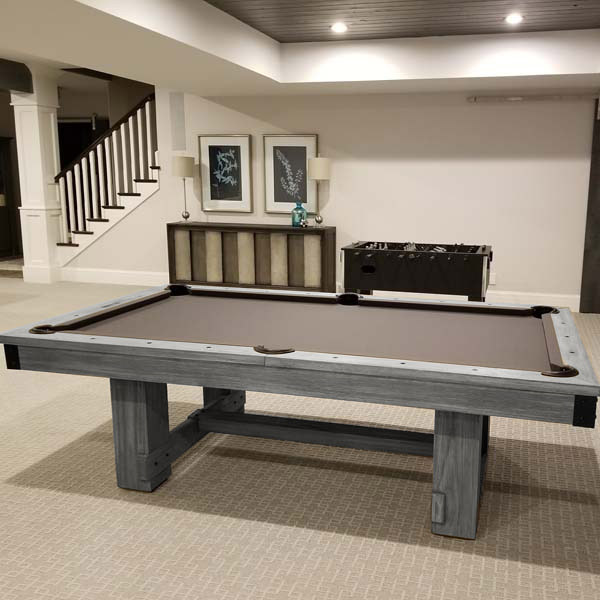 The Silverton 8 Foot Pool Table