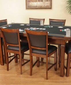 Burlington Suede Game Table