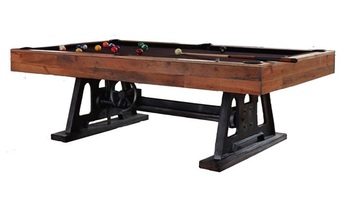 The Da Vinci 8 Foot Pool Table Has Both Old And New