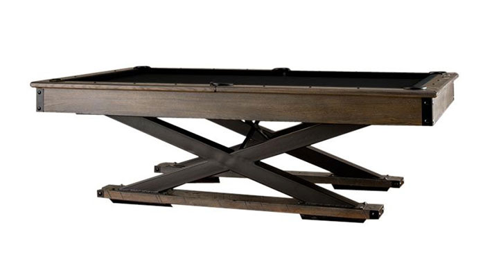 The Quest 8 Foot Pool Table American Oak Which Provides