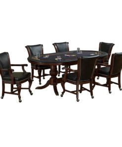 Royale Oval Poker Set