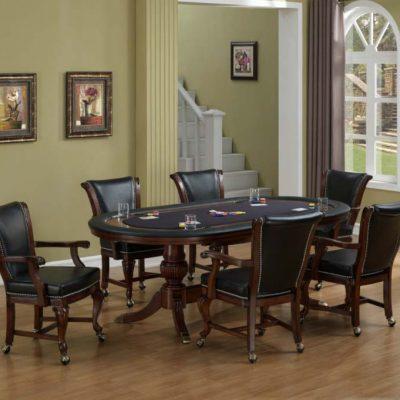 Royale Oval Poker Set