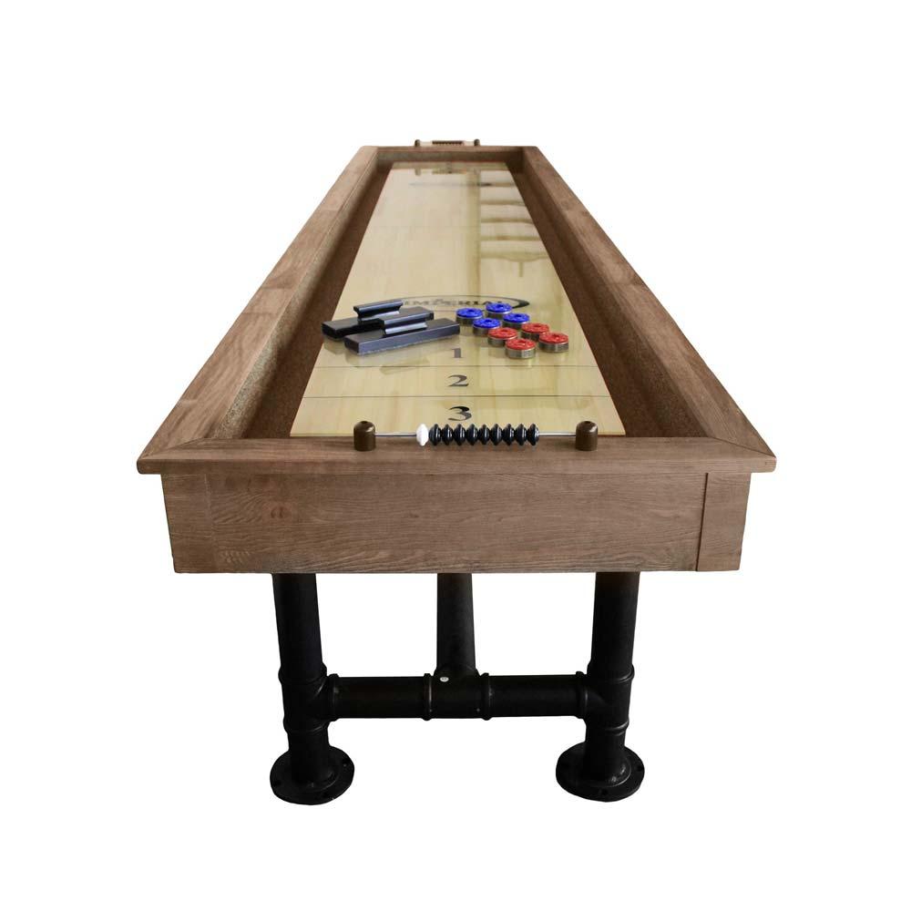 Bedford Ft Shuffleboard Table Desert Chestnut - 12 foot shuffleboard table for sale