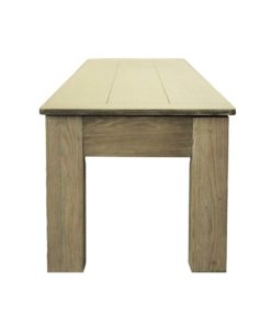 Weathered Grey 76-Inch Long Bench