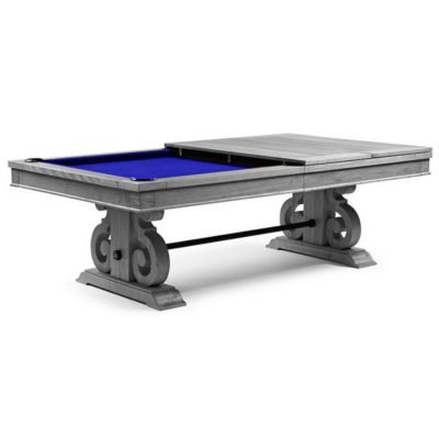 Barnstable Dining Silver Mist Pool Table