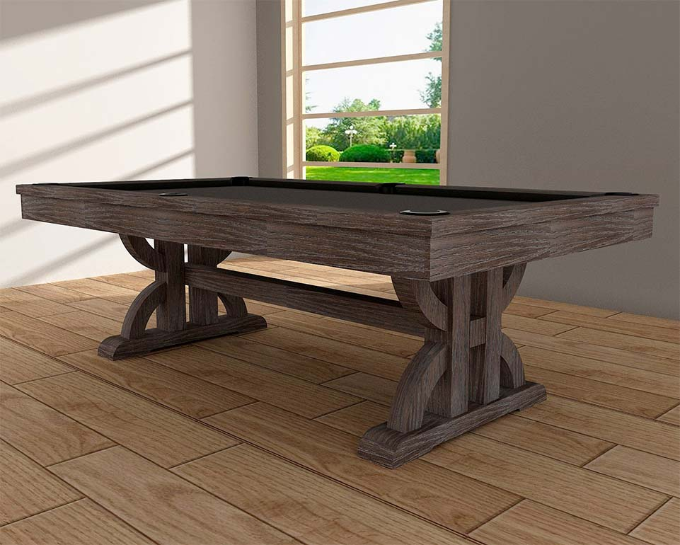 The Imperial Drummond Ft Pool Table Contemporary Dark Chestnut - Pool table conference table