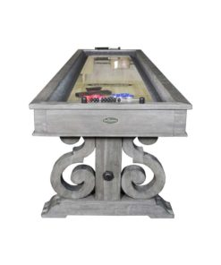 Barnstable 12 ft. Shuffleboard Table Silver