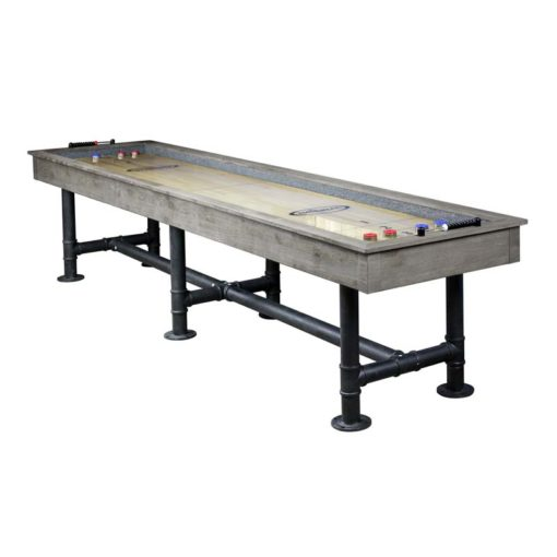 Bedford 12 ft. Shuffleboard Table Silver