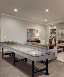 Bedford 12 ft. Shuffleboard Table Silver