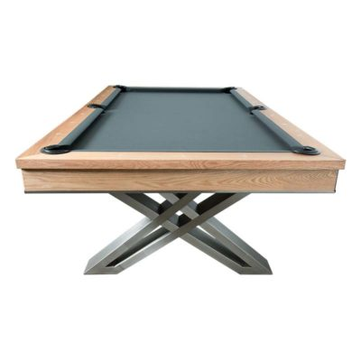 Pierce Pool Table Oak