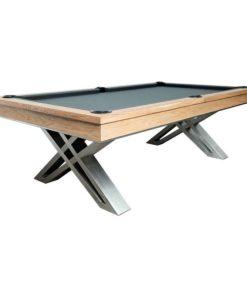 Pierce Pool Table Oak