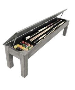 Silver Mist 76 inch Long Bench